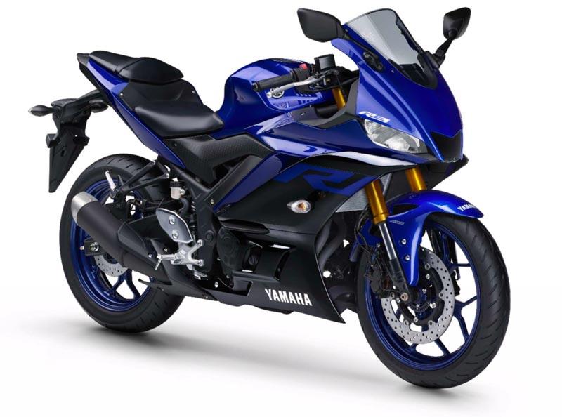 Yamaha Brasil lança nova geração da YZF-R3 ABS. Azul Metálico (Racing Blue)