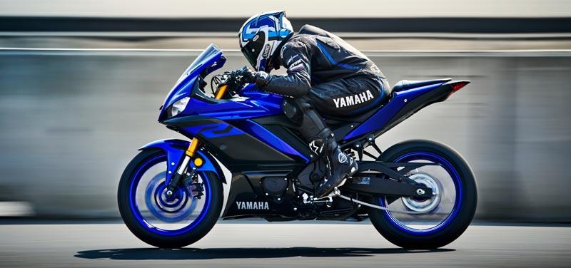 Aerodinâmica YZF-R3 ABS Azul Metálico (Racing Blue)
